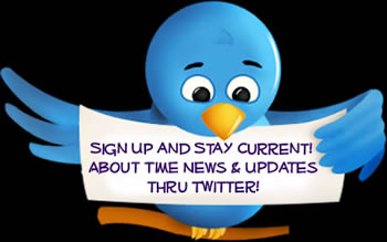 Sign Up for About Time News & Updates on Twitter!